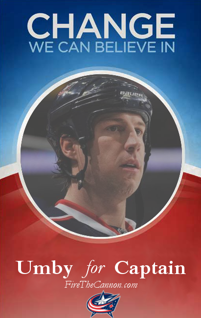 Umberger for Captain