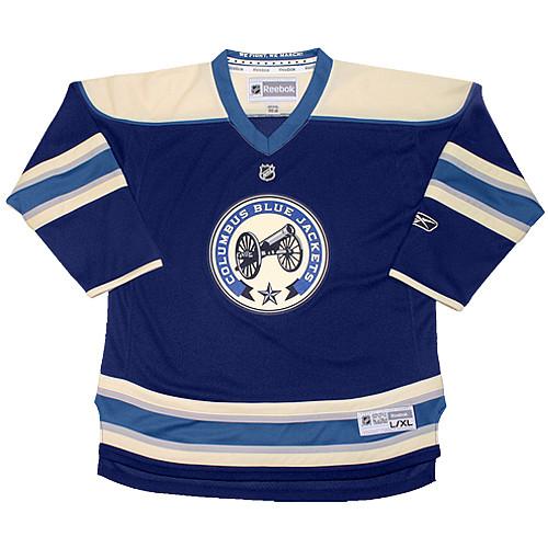 the latest 853b6 953e4 columbus blue jackets cannon jersey